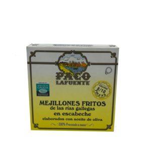 MEJILLONES EN ESCABECHE PACO LAFUENTE