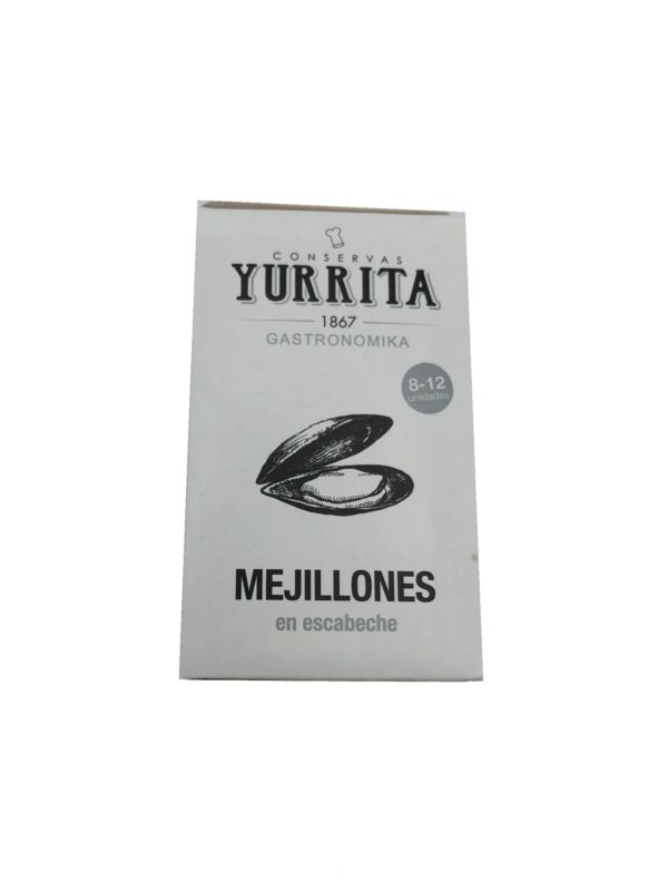MEJILLONES EN ESCABECHE YURRITA